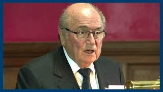 Sepp Blatter | Full Address | Oxford Union