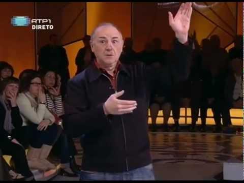 """Carlos Martínez on the TV show """"Portugal no Coração"""""""