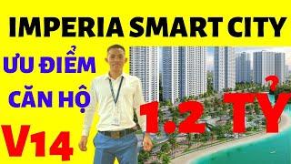 Căn hộ chung cư đẹp giá rẻ 1.2 tỷ ImPeria Smart CiTy Tây Mỗ giữa Vinhomes ưu điểm vs Huy AB Cen Land