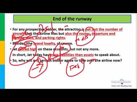 Jet Airways End Of The Runway 18 April