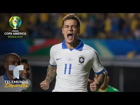 Coutinho: El hombre que puede con la responsabilidad de Brasil   Copa América   Telemundo Deportes