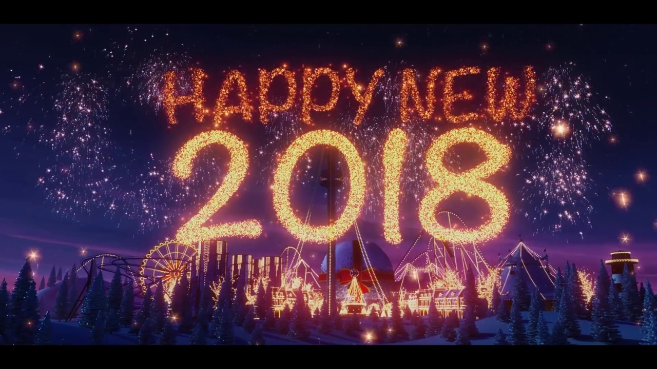 europa park merry christmas and a happy new year 2018