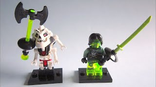 LEGO NINJAGO Rise of the Villains, custom SAMUKAI and MORRO