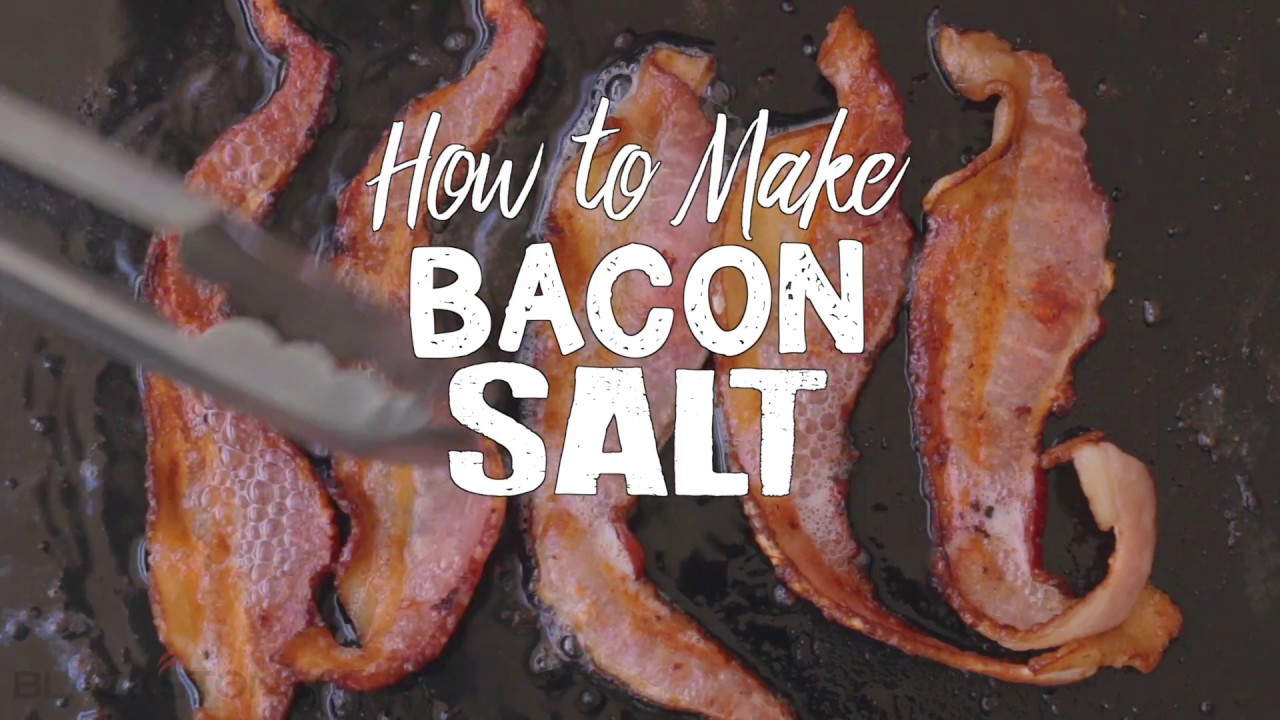 How To Make Bacon Salt Blackstone Griddle Youtube