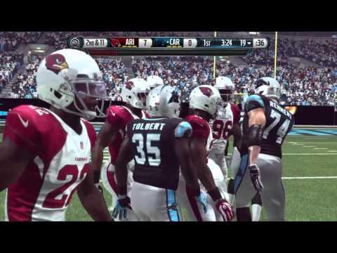 NFL Playoffs 2016 - Arizona Cardinals vs Carolina Panthers - Part 1 - Madden NFL 16 - HD
