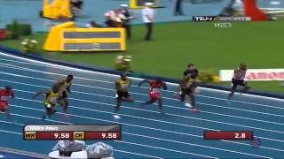 Men 100m Run Final 2013 IAAF World Championships