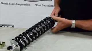 How to Assemble a Coil Over Shock and Spring Adjustment Global West Suspension Collar