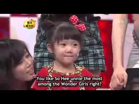 Wonder Baby vs  Wonder Girls