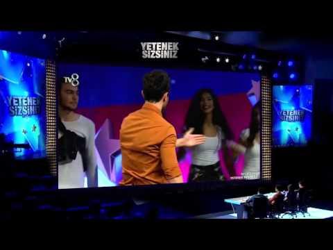 Murat Boz Ve Grup Dir 'Dans Gösterisi' - Yetenek Sizsiniz Türkiye 8 Kasım 2014