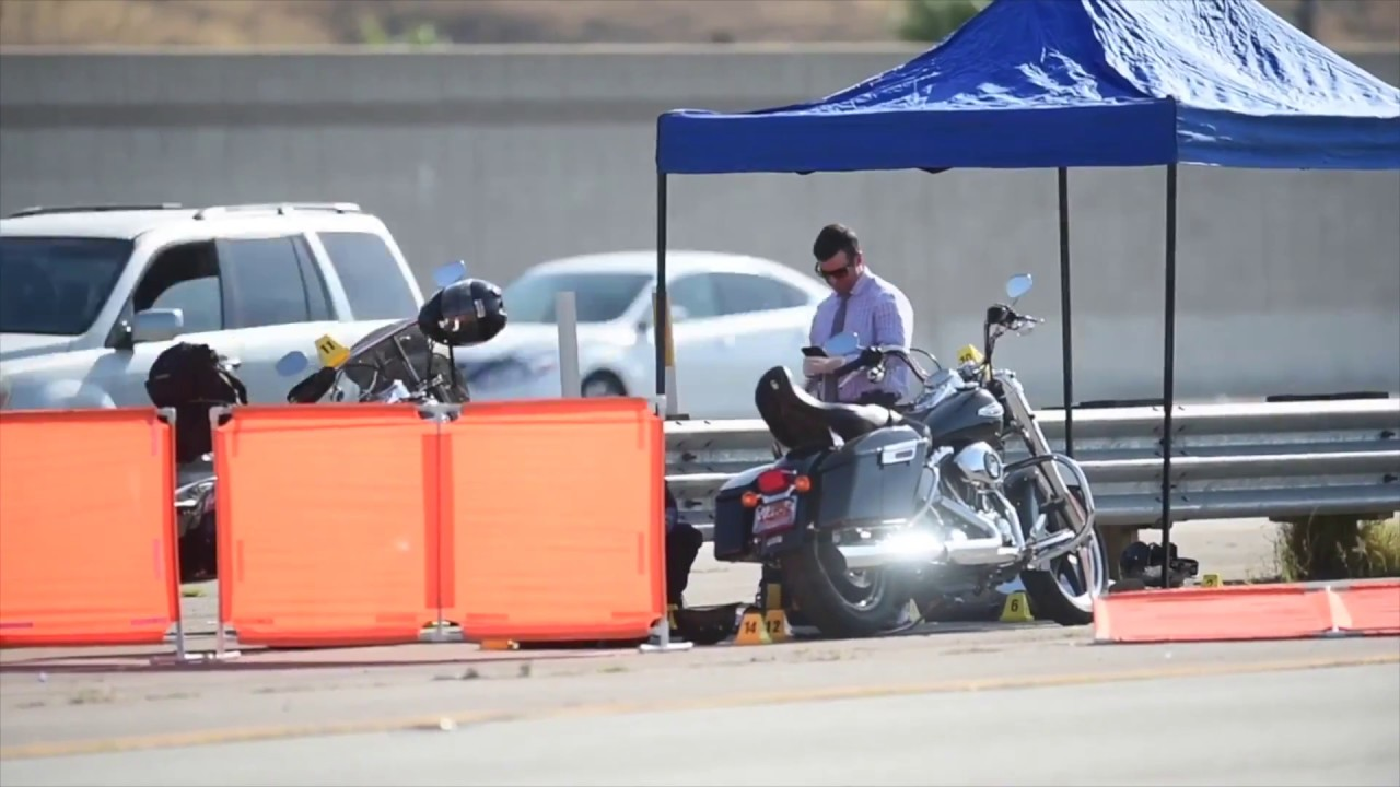 motorcycle shooting 215  1 dead and 1 wounded when motorcyclists shot on 210 Freeway in San ...