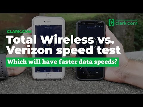 Total Wireless vs. Verizon 4G LTE Speed Test (Fall 2018)