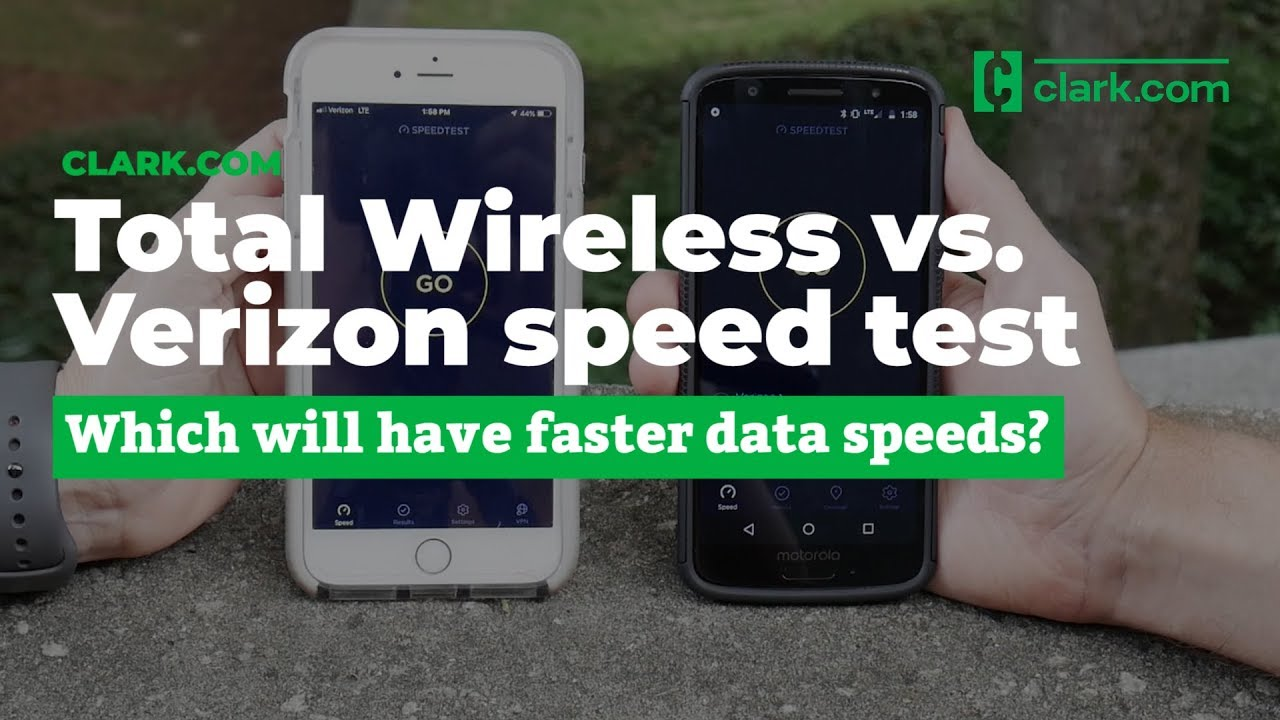 Total Wireless vs  Verizon 4G LTE speed test (Fall 2018)