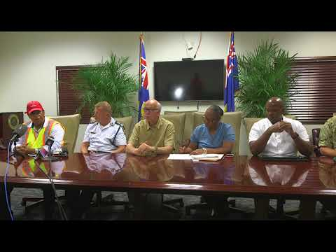 Post Irma Press Conference with Turks and Caicos Islands Government