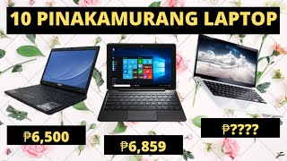 10 PINAKAMURA na LAPTOP na PWEDE pang WORK FROM HOME | Laptop Price LIST Philippines 2020