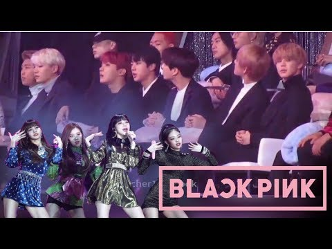 BTS reaction to BLACKPINK's Performance at the Golden Disc Awards