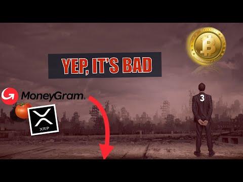 Markets On Monday Due to IMPLODE. Moneygram + XRP = SELLOFF. Bitcoin BTC as a SAFE HAVEN NOW?