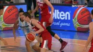 Turkey vs. Argentina [66-38] --Women's Basketball--Olympic Qualifications--[6/14/2016]