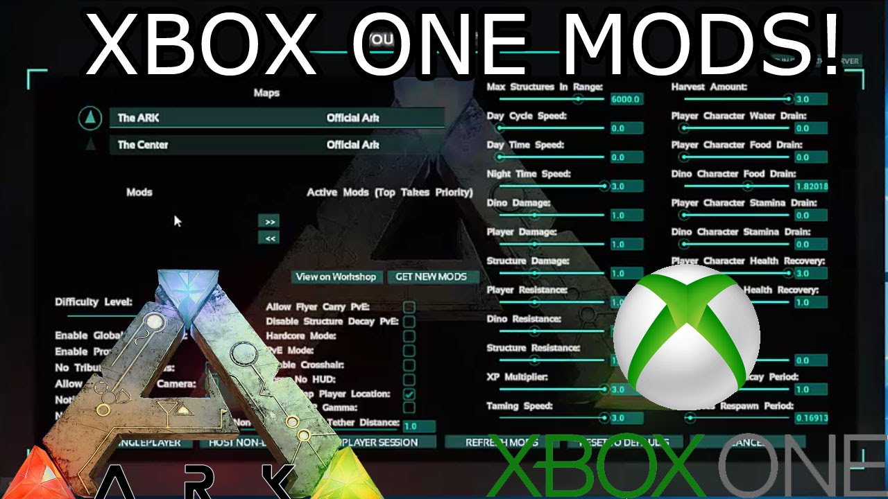 Xbox ark cheats