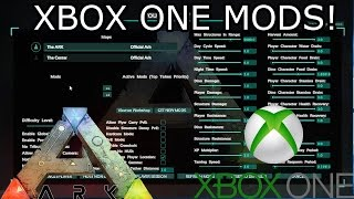 HOW MODS WILL WORK ON ARK XBOX ONE?! - ARK: SURVIVAL EVOLVED