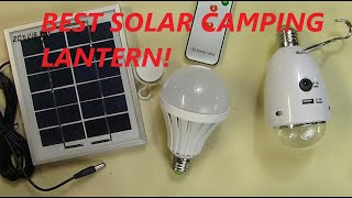 SMADZ SL21A 4 in 1 LED Lamp Kits - Solar Lamp x 12 LEDs Camping / Emergency Light