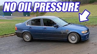 The Drift BMW Has No Oil Pressure, What Do We Do? What's Next?