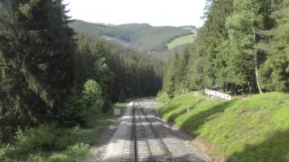Führerstandsmitfahrt Oberweißbacher Bergbahn in 4K