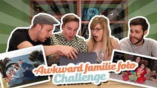 AWKWARD FAMILIE FOTO CHALLENGE!