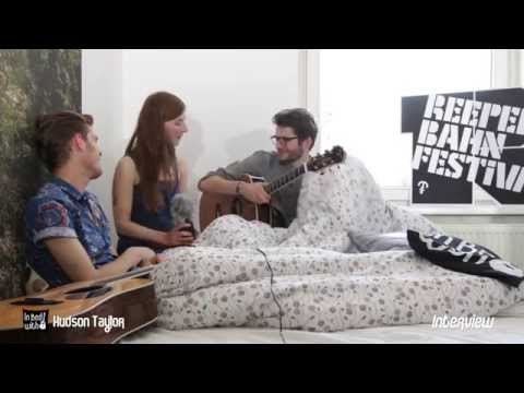 Hudson Taylor - In Bed with Interview at Reeperbahn Festival 2014