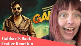 Gabbar Is Back - AMERICAN REACTION!