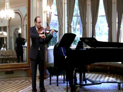 Jassen Todorov & W Corbett-Jones, Schubert Sonata in A Major, (part 3)