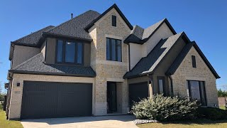 Perfect blended mix of Contemporary & Traditional elements in this Frisco, TX new construction home! Video