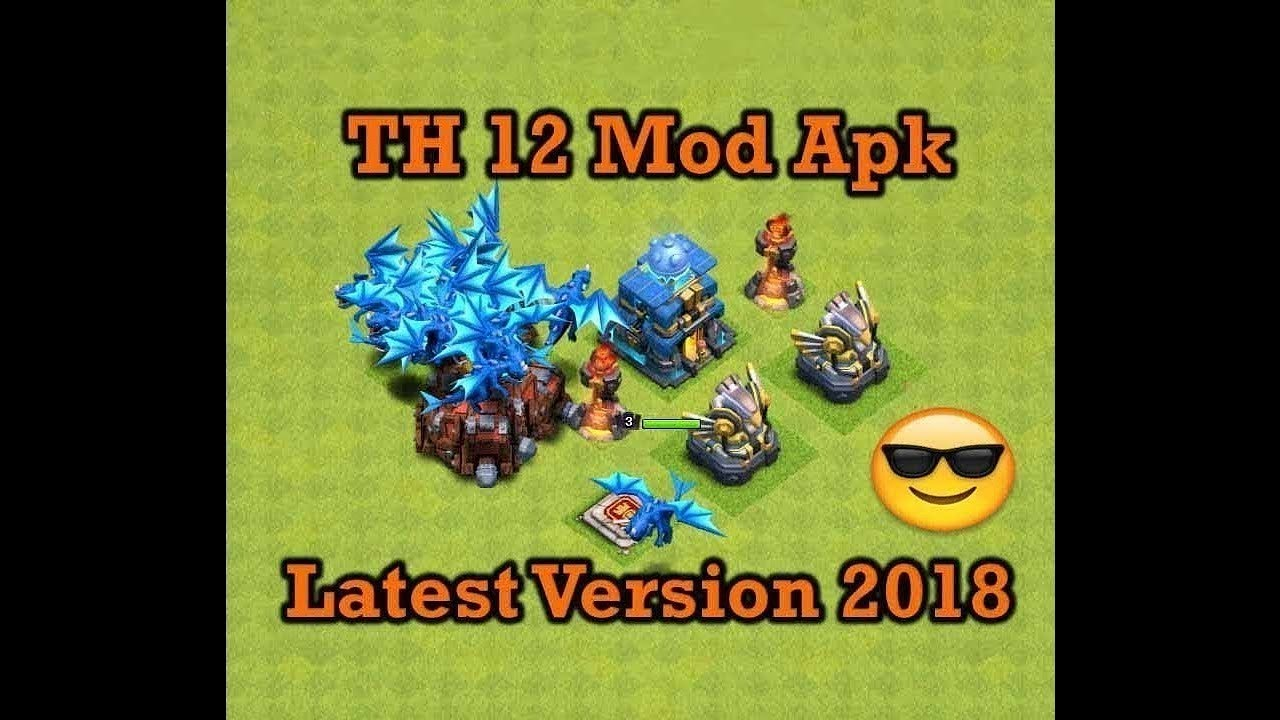 Clash of clans mod apk (unlimited gems) town hall 12 electro | Clash