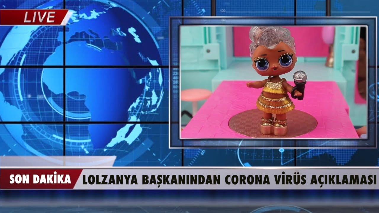 LOL BEBEKLER KORONAVİRÜS'E YAKALANDI! LOLZANYA'DA İLK VAKA! OKULLAR TATİL! #LOLBebekSürprizleri İZLE