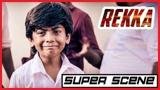 Rekka - Mass Fight Scene | Vijay Sethupathi | Lakshmi Menon | D Imman