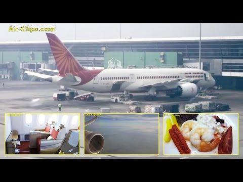 Air India Boeing 787-8 Dreamliner New Delhi to Frankfurt [AirClips full flight series]