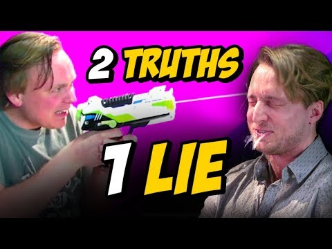 2 TRUTHS, 1 LIE w/ GUS JOHNSON