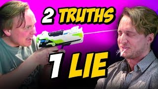 2 TRUTHS 1 LIE w/ GUS JOHNSON