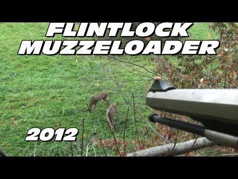 Flintlock Muzzleloader Hunting Deer Kill 2012 Pa