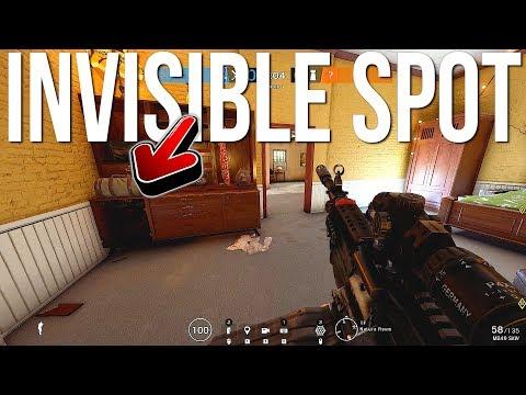 NEW! Invisible Hiding Spot & Best New Tricks - Rainbow Six Siege Burnt Horizon