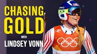 Lindsey Vonn's Last Olympic Race | Chasing Gold | Pyeongchang 2018 | Eurosport