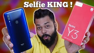 Redmi Y3 Unboxing & First Impressions ⚡ The Best Selfie Camera Smartphone??
