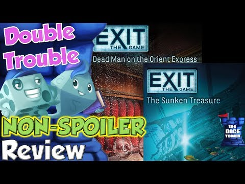 Exit: The Sunken Treasure & Dead Man on the Orient Express R