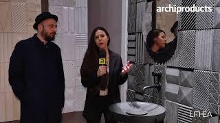 Salone Internazionale del Bagno 2018 | LITHEA  presenta Innesti Mediterranei