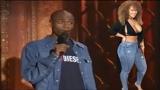 Dave Chappelle On This Lady Comes On TV With A Black Eye   Dave Chappelle Comedy