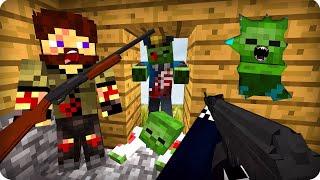 КАК МЫ ВЫЖИЛИ ПОСЛЕ ЭТОГО?! ХАНТЕР? [ЧАСТЬ 7] Зомби апокалипсис в майнкрафт! - (Minecraft - Сериал)