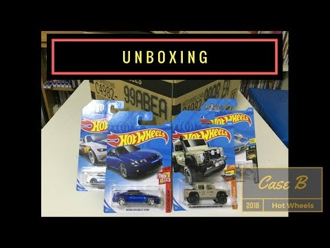 Unboxing - Hot Wheels Case B 2018 (Original Seal)