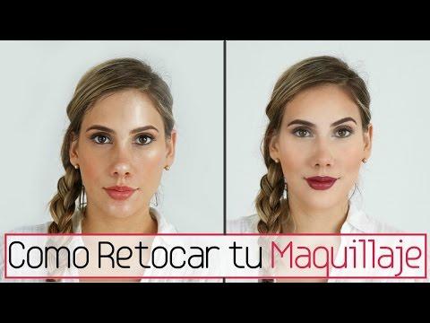 Como retocar tu maquillaje durante el día Carolina Ortiz