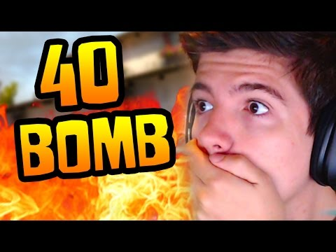 """MY FIRST 40 BOMB!?"" - CS:GO Competitive #28 