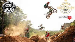 The Scariest Pit Bike Jumps EVER // Nitro Circus Triple Crown Round 1