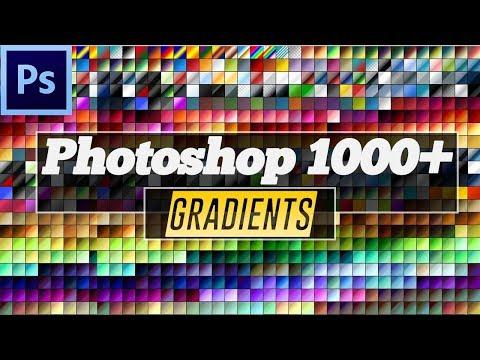 1000+ Photoshop Gradient Pack Free Download  - Urdu Tutorial